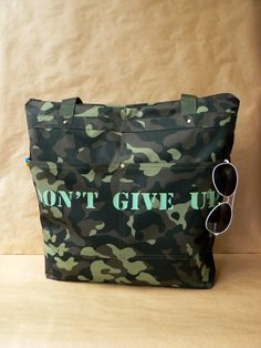 bag, military style