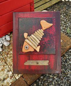 """Le poisson """"bric à brac"""" : Décorations murales par les-toiles-de-mer-de-syl"""