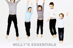 Holly's Essentials basic pieces for kids