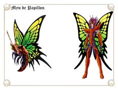 Myu de Papillon by on DeviantArt Nasu, Ghost Rider, Hades, Deviantart, Veronica, Rooster, Dragon, Fan Art, Animals