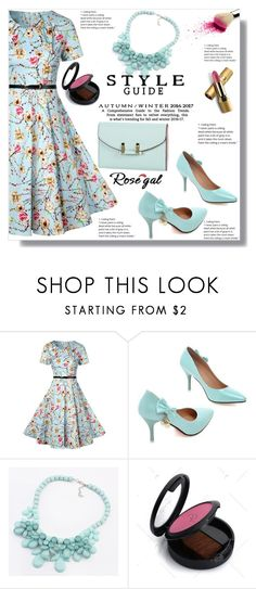 """Rosegal  45"" by ramiza-rotic ❤ liked on Polyvore featuring Avon"