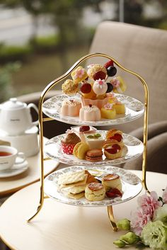 Everything you need for the perfect afternoon tea.