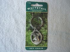Vintage Hillman Whitetail Deer Key Chain
