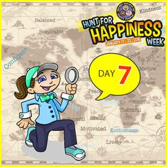 We're wrapping up ‪#‎HuntForHappiness‬ Week. Do one of the three hunts to make your day happier: http://sohp.com/hunt-happiness-day-7