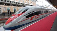 high-speed train - Russia