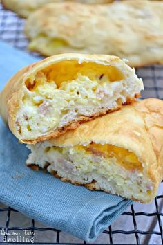 Recipe: Ham Egg and Cheese Breakfast Pockets Summary: Lo and behold, they were a huge hit, too! Perfect for little girls who like to run around in the morning, husbands who like to eat in their car, or busy moms who are trying to get everyone else ready while also eating something for breakfast, themselves. …