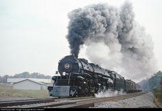 RailPictures.Net Photo: NW 1218 Norfolk & Western Steam 2-6-6-4 at Manassas, Virginia by Don Oltmann