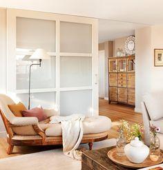 Consiguieron un piso más amplio ¡con correderas! · ElMueble.com · Casas