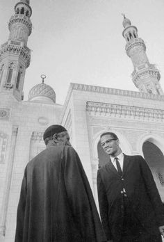 Malcolm X visiting Mecca