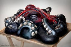 Octopus cake  Cake by Madewithlovebyme  Stunning and so much detailing