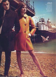 Mert Alas and Marcus Piggott - Photographer  Grace Coddington - Fashion Editor/Stylist