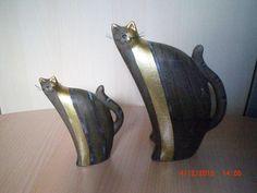 2 Deko- Katzen, Keramik in Möbel & Wohnen,Dekoration,Dekofiguren   eBay