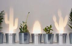Waanzinnig leuk voor je interieur: lampen die licht geven in de vorm van een cactus