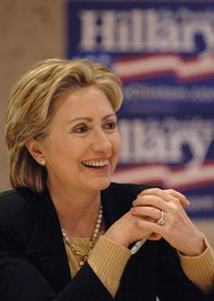 Hillary Clinton.  Everyone has an opinion ;)  Mine is that she is a brilliant and fearless woman who I admire intensely.