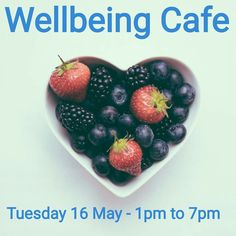 Wellbeing Cafe Pop up - Thursday 13th July