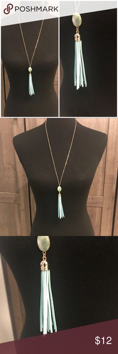 💕Valentine's sale!💕 Tassel necklace New. Never worn. Tassel necklace Jewelry Necklaces