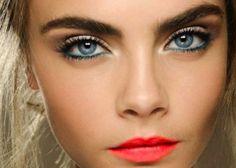 Bold eye makeup look