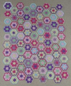 Ravelry: HayleyMCreations' African Flower Baby Blanket