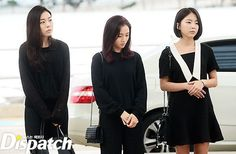 Ladies' Code spotted leaving for Japan to commemorate RiSe and EunB's death anniversary