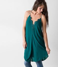Free People Strappy Tunic Tank Top