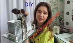 DIY - Como fazer um Porta-Pincéis lindo, super fácil e barato - Presente...
