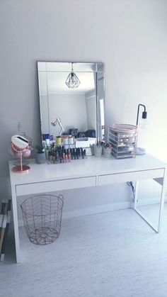 Drawer unit micke desk and extra work on pinterest - Mesa auxiliar malm ikea ...