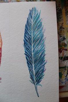 Federn malen ist gar nicht so schwer: Ich stelle dir hier drei Varianten vor, wie du ganz einfach eine Feder malen kannst. Schritt für Schritt zum Bild.