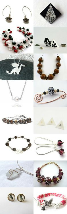 Darkness & Light - Etsy treasury created by Ffigys Designs