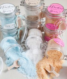 What's more cozy than slipping into a tub full of homemade bath salts?
