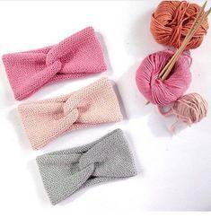 Knitting and crochet knitting and crochet Stitch Patterns, Knitting Patterns, Crochet Patterns, Knitting Projects, Crochet Projects, Crochet Baby, Knit Crochet, Knitted Headband Free Pattern, Crochet Headbands