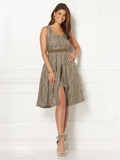 Shop Eva Mendes Collection - Jacquard Freya Dress. Find your perfect size online at the best price at New York & Company.