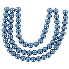Bead Treasures 6mm Teal Round Glass Pearl Beads | Shop Hobby Lobby