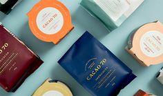 CACAO 70 brand identity design inspiration