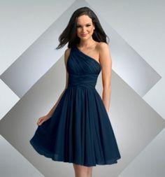 Inspiration Board: Stunning One-Shoulder Bridesmaid Dress