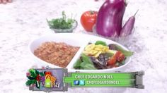 Bacalao guisado con berenjena - Chef Edgardo Noel