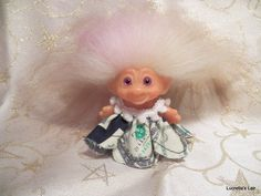 Money Muumuu Dress for Dam Scandia Troll by LucretiasLair on Etsy
