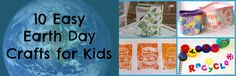 10 Easy Earth Day Crafts for Kids
