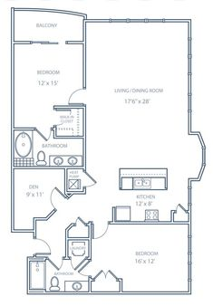 2 bedroom bungalow floor plan plan and two for Small condo floor plans