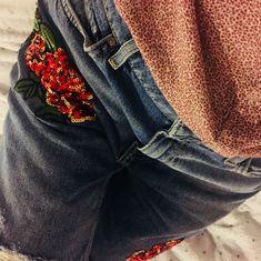 Blue jeans - vintage style