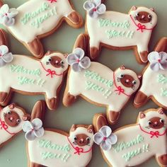 """(Sat) one day cafe micarina @ Shimokitazawa commune introduction of the menu: """"cute candy micarina"""" atelier diary Cat Cookies, Fancy Cookies, Biscuit Cookies, Cupcake Cookies, Sugar Cookies, Thank You Cookies, Galletas Cookies, Cute Candy, Cookie Time"""