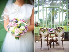 Without the purple, but really beautiful! Say it With Flowers – Aine and Karl's Village at Lyons Wedding by Elisha Clarke