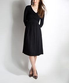 Loving this Black Party at Midnight Dress on #zulily! #zulilyfinds