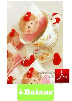 http://manualidadesamigas.foroargentina.net/RECUERDO BABY SHOWER NENA CON LAZO en fieltro de Boutique do feltro - PAP