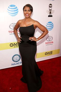 Omarosa Manigault attends the 48th NAACP Image Awards at Pasadena Civic Auditorium on February 11, 2017 in Pasadena, California.