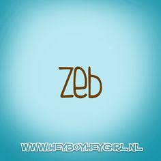 Zeb (Voor meer inspiratie, en unieke geboortekaartjes kijk op www.heyboyheygirl.nl)