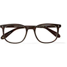 65fee951c4 Garrett Leight California Optical Bentley D-Frame Matte-Acetate Glasses  Designer Glasses For Men