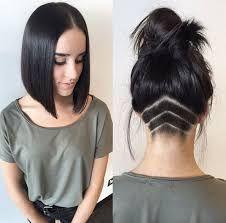 Resultado de imagem para cabelo raspado atras