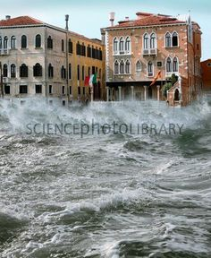 Severe storm, Venice, Italy   >>   I never devoted any thought to how a storm would affect the buildings in Venice...