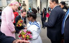 Ethiopia visit of Prince Haakon and Princess Mette-Marit