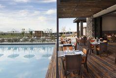 Se trata de Siete Fuegos del hotel The Vines Resort and Spa, ubicado en el departamento de Tunuyán.